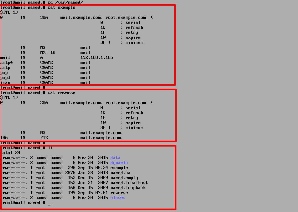 Check DNS Zone files on Centos 7