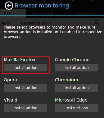 Enable xdman for mozilla firefox